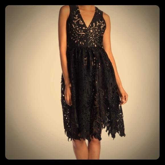 44d64203 Dress the Population Dresses & Skirts - Dress the Population black lace  Rita dress